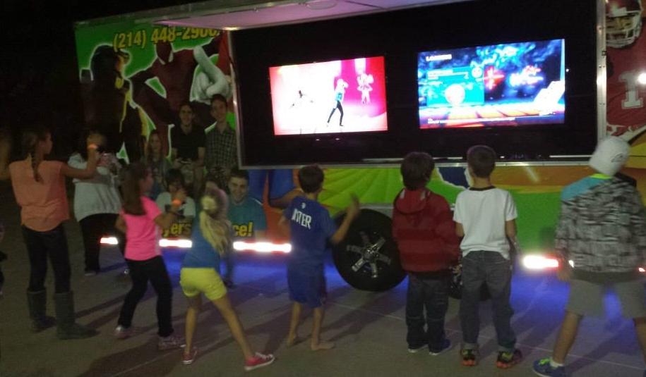 Dancing in the street!