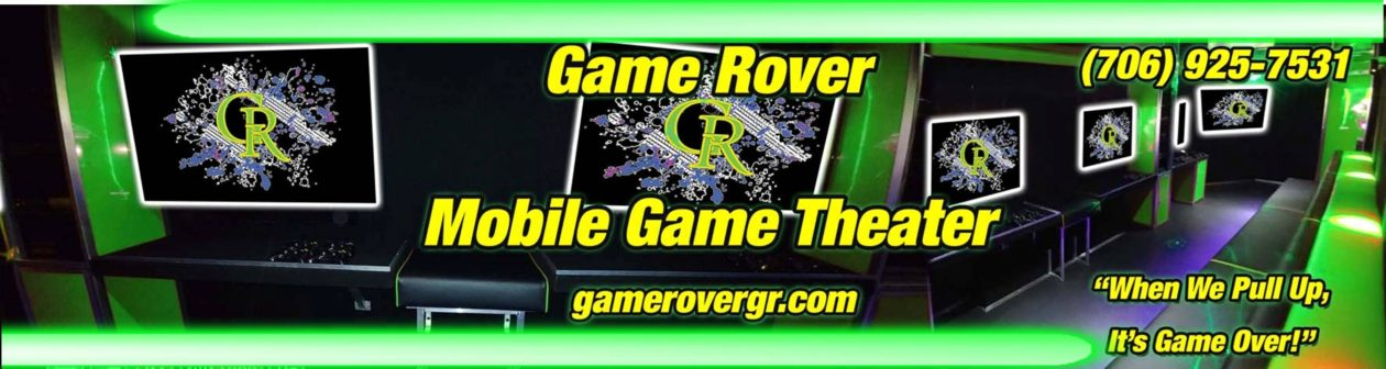 Game Rover – Mobile Video Game Truck Parties in Greater Augusta, Georgia – Birthday Parties, Fundraisers & More!